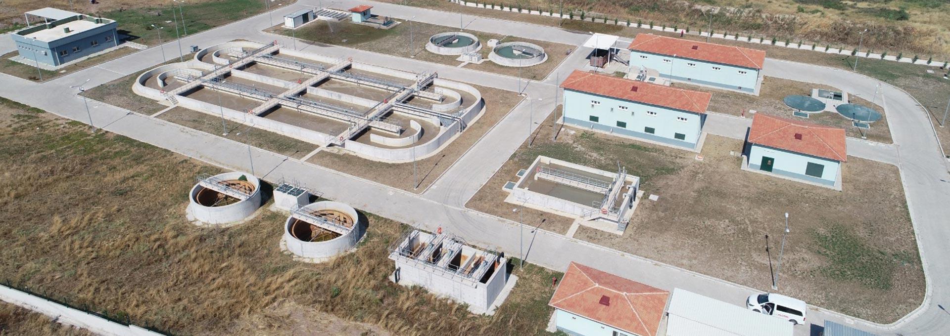 Aliağa OSB (İzmir) Kimyasal ve Biyolojik Atıksu Arıtma Tesisi