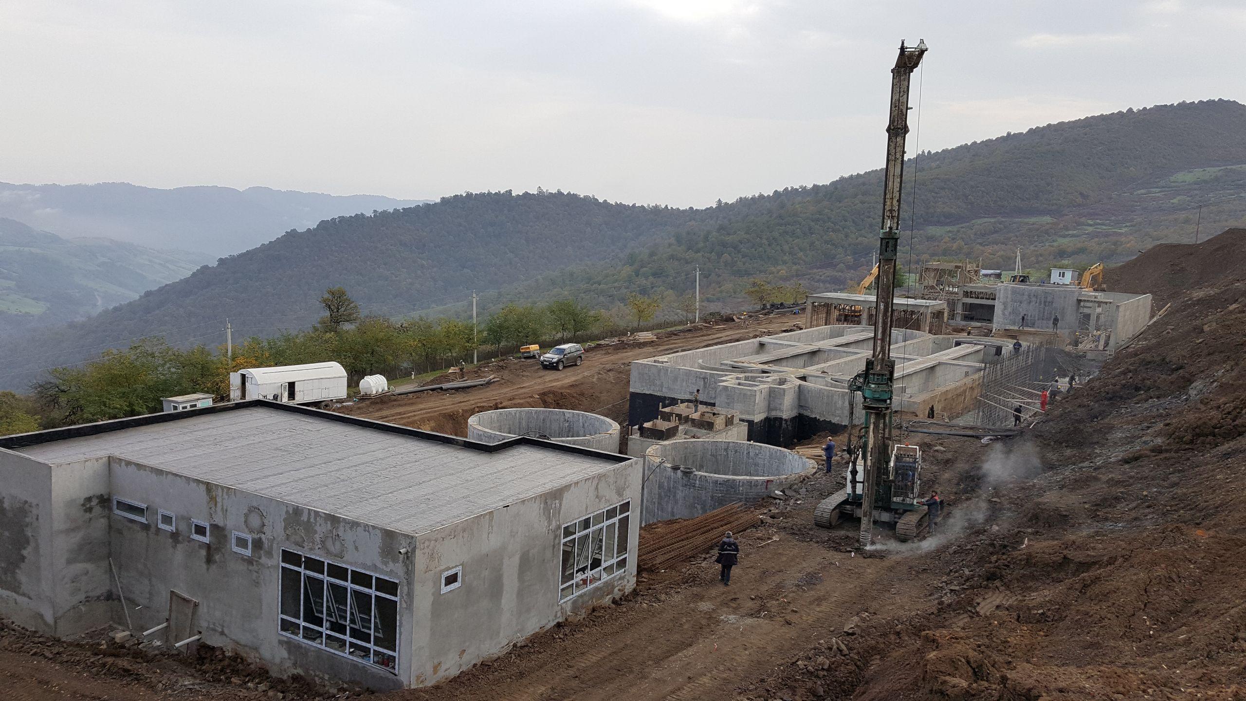 Lerik (Azerbaycan) Atıksu Arıtma Tesisi