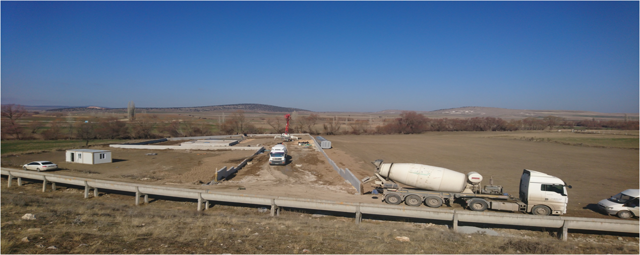 Seyitgazi (ESKİŞEHİR) Paket Atıksu Arıtma Tesisleri Mekanik ve Elektrik İnşaat İşleri Devam Etmektedir