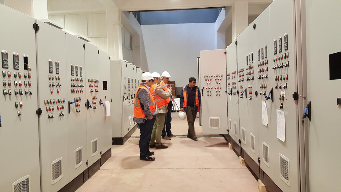 Azerbaycan Heyeti Lerik AAT Fabrikamızda Elektrik Panoları Kabulünde