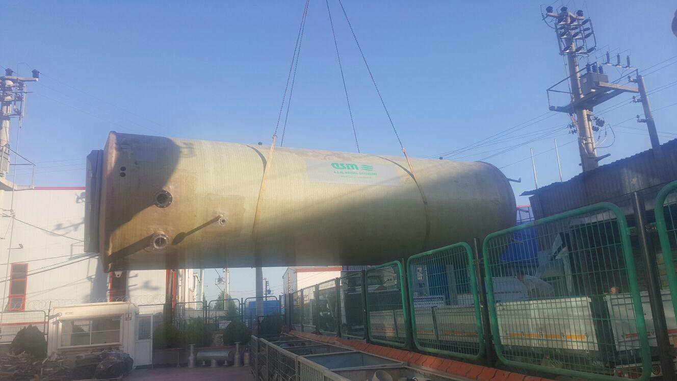 İSKİ tarafından ihalesi yapılmış olan SİLİVRİ (Büyükkılıçlı) Paket Atıksu Arıtma kapsamında hazır terfi istasyonu fabrikamızda tamamlanmıştır.