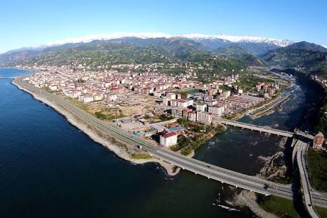 Parsan A.Ş. tarafından yapımı devam eden Ardeşen (RİZE)  Derin Deniz Deşarji projesi