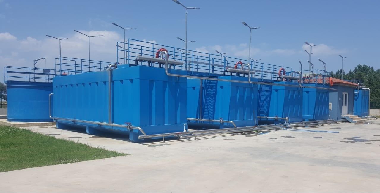 İSU tarafından ihale edilen, mekanik ve elektrik işleri tarafımızca yapılan Sucuali Tip Paket Atıksu Arıtma tesisi tamamlanmıştır.