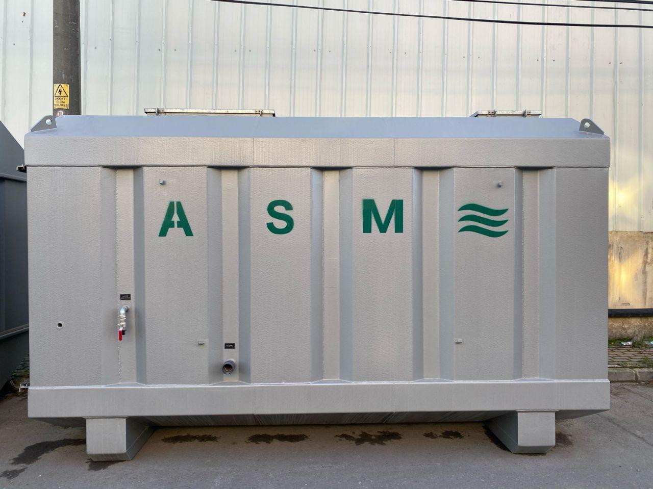 Paket Arıtma Sistemlerimiz imalat ve kontrolleri tamamlanarak müşterimize sevk edilmeye hazırdır.