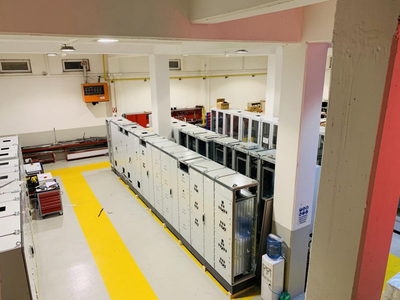 Karapınar (KONYA) Atıksu Arıtma Tesisi'nin elektrik panoları imalatı başarılı bir şekilde devam ediyor.