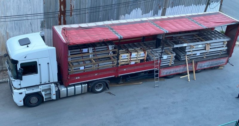 Paslanmaz Çelik Penstoklarımız İmalat ve Kontrolleri Tamamlandıktan Sonra Ukrayna\'ya Gönderilmiştir.